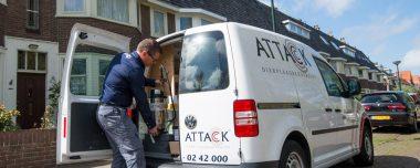 attack ongediertebestrijder servicemedewerker plaagdieren