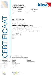ISO certificaat 18001