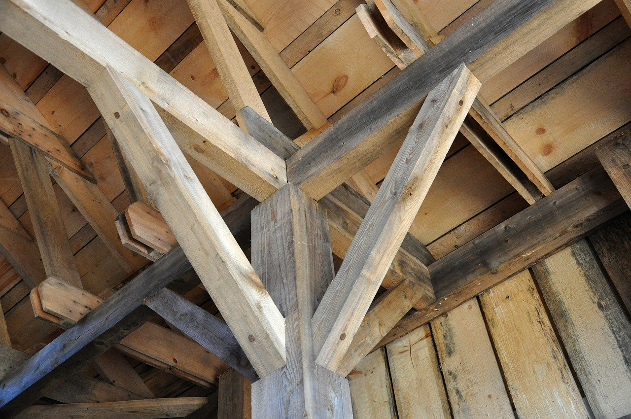 houten constructie houtworm herkennen