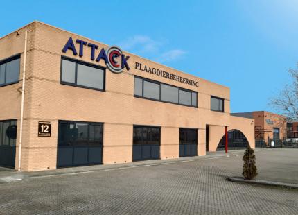 Attack Plaagdierbeheersing hoofdkantoor Heerhugowaard
